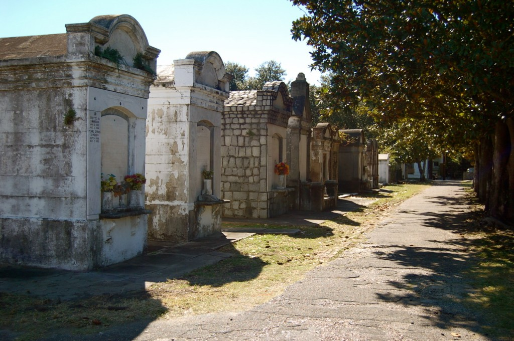Lafayette Cemetary in New Orleans