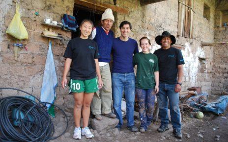 Richard Webb in Peru