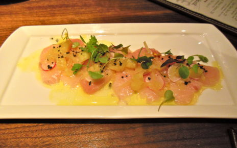 Sashimi at Public House in Las Vegas