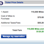 United frequent flier miles