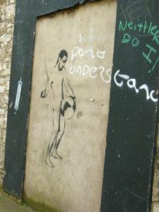 Graffiti in Cork, Ireland