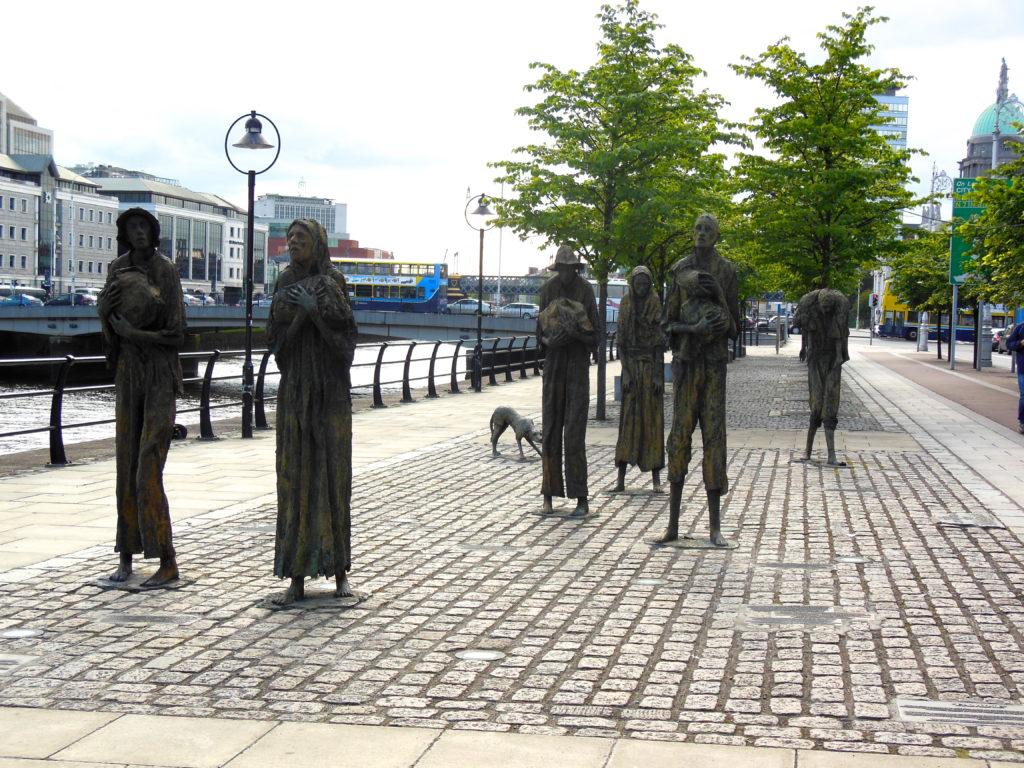 Dublin statues
