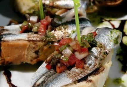 Pintxos - Tapas of Restaurant Euskal Extea, Barcelona