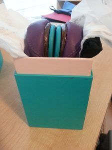 Tieks in their box