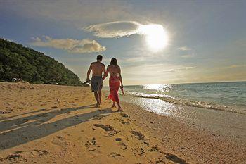 Boracay's white sand beach