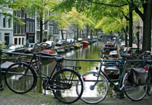 The romantic Bloemgracht canal