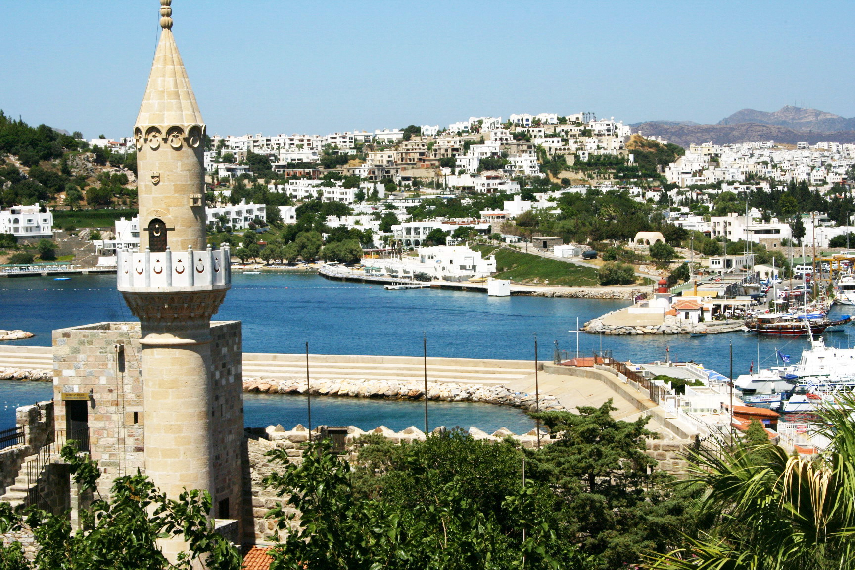 Bodrum from Castle (1)