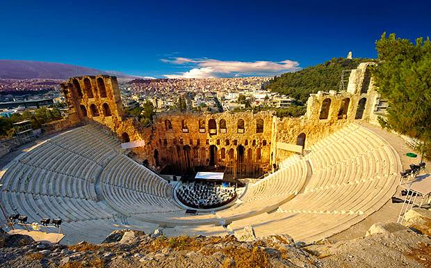 Odeon+of+Herodes+Atticus