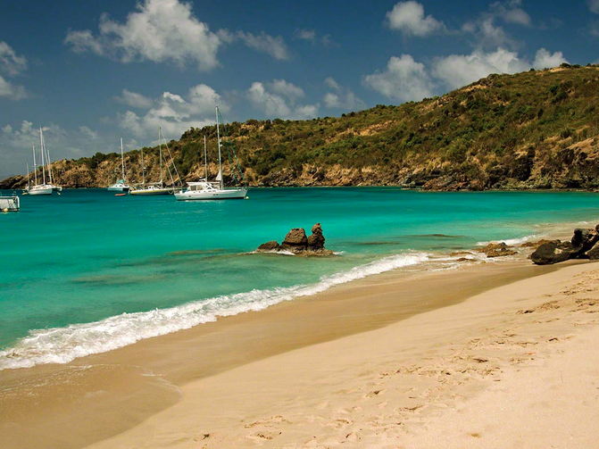 Best Island Beaches For Partying Mykonos St Barts: St. Barts On The Cheap